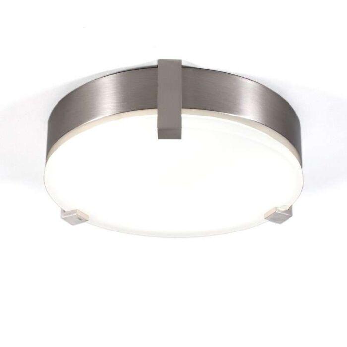 Stropní-lampa-Crook-kulatá-22W-ocel