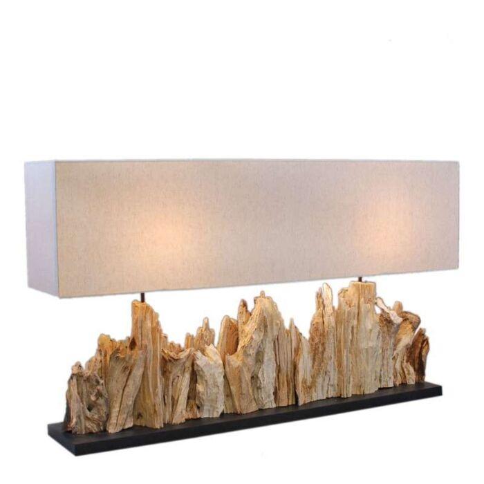 Stolní-lampa-Thak-Extra-Grande-(115-cm-!!)-s-plátěným-stínidlem