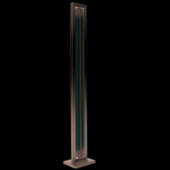 Stojací-lampa-Tube-straight-silver