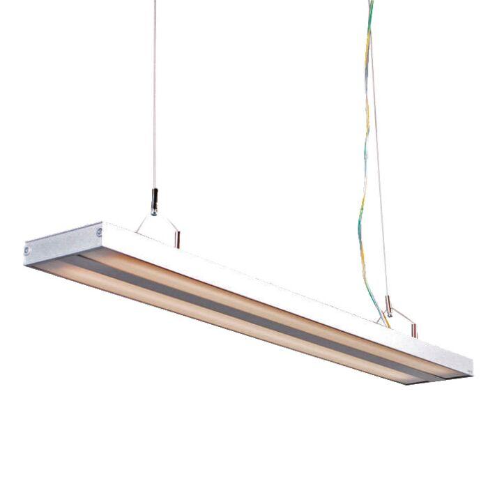 Závěsná-lampa-Tube-S-stříbrná-2-x-21W