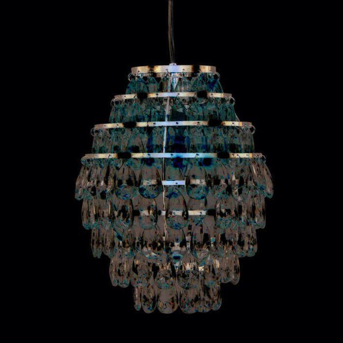Závěsná-lampa-Pinecone-chrom