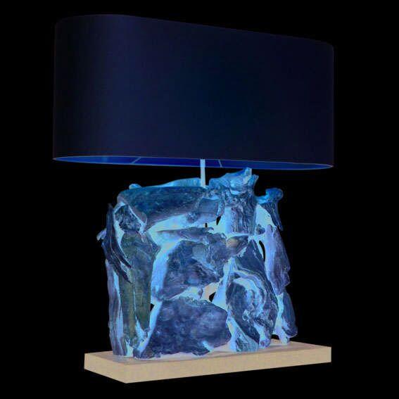 Stolní-lampa-Raman-Recta-Bělená-krémovým-odstínem