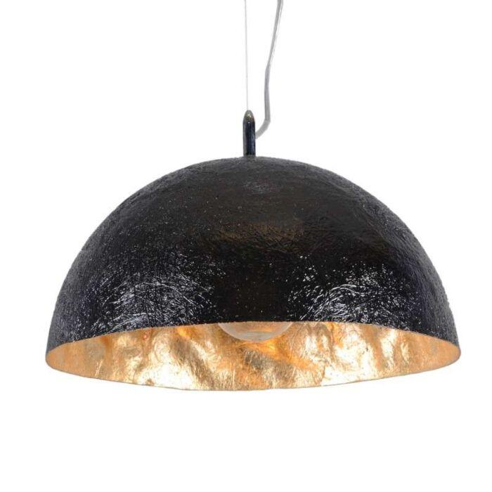 Závěsná-lampa-Magna-40-černá---zlatá