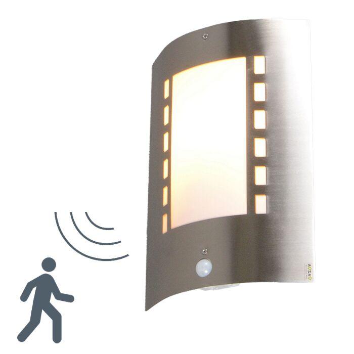 Venkovní-lampa-Emmerald-s-detektorem-pohybu