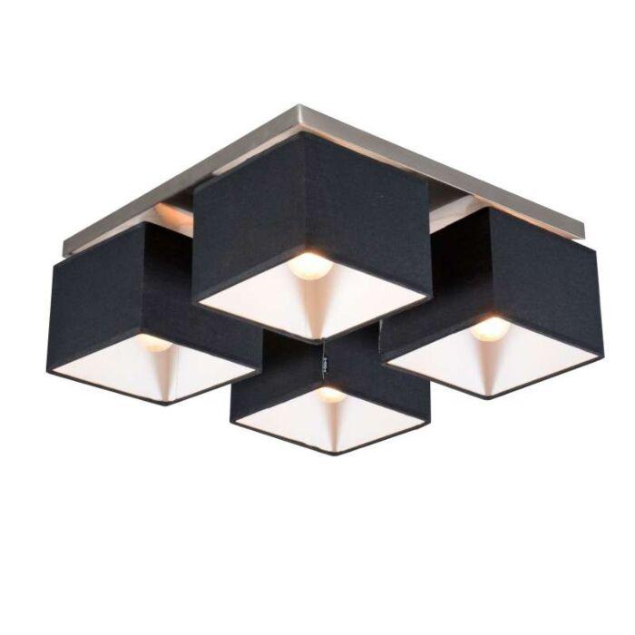 Stropní-svítidlo-VT-4-černé