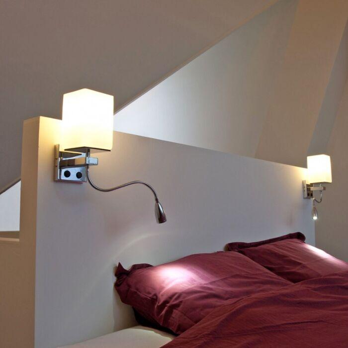 Nástěnná-lampa-Brescia-chrom-s-bílým-sklem