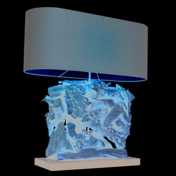 Stolní-lampa-Raman-Recta-přírodní-s-hnědým-odstínem