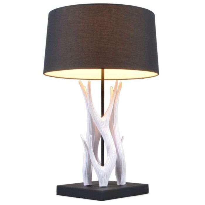 Stolní-lampa-Yindee-bílá-s-černým-odstínem
