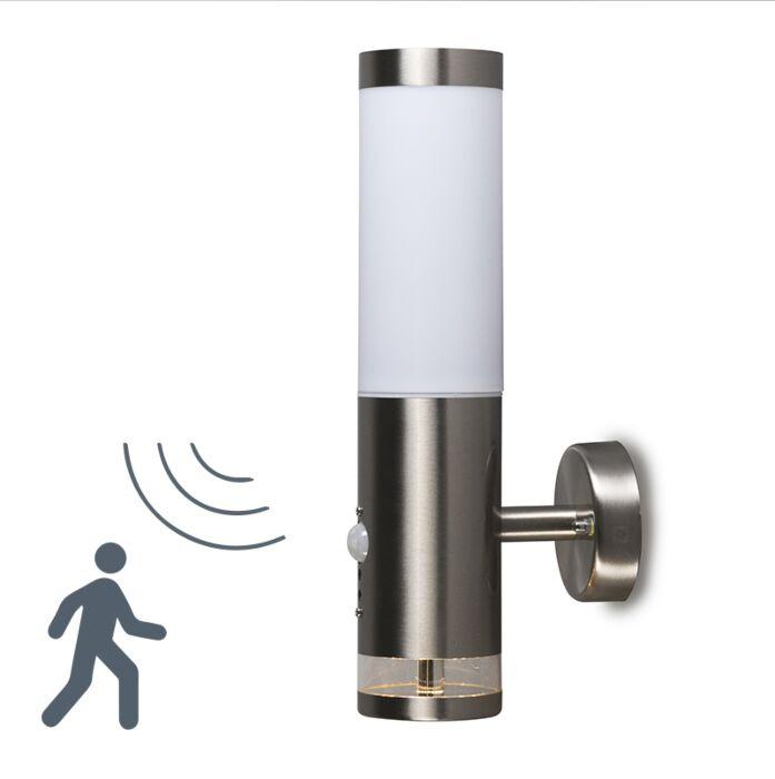 Venkovní-lampa-Rox-nástěnný-Lux-LED-IR-senzor