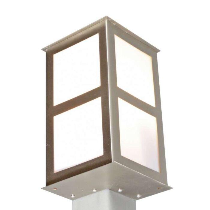 Venkovní-lampa-Rohová-ocel-pro-rohovou-montáž