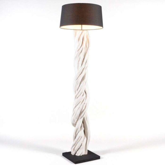 Stojací-lampa-Arich-s-černým-odstínem