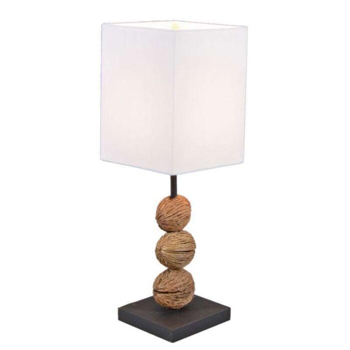Stolní-lampa-Tasanee-s-bílým-odstínem
