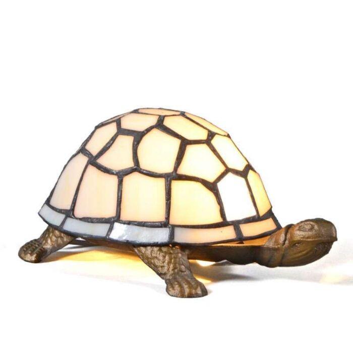 Stolní-lampa-Tiffany-Turtle