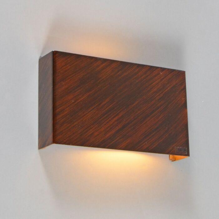 Nástěnná-lampa-Otan-rezavě-hnědá