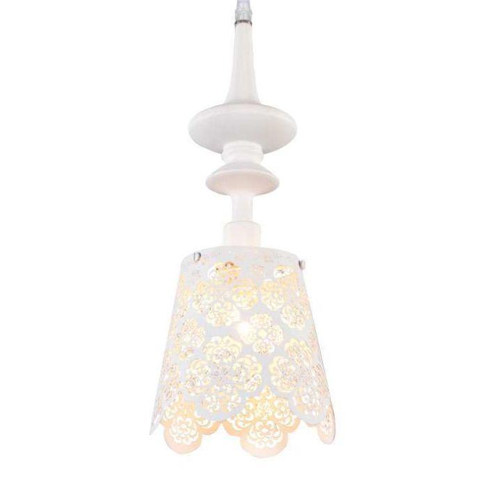 Závěsná-lampa-Krajka-bílá