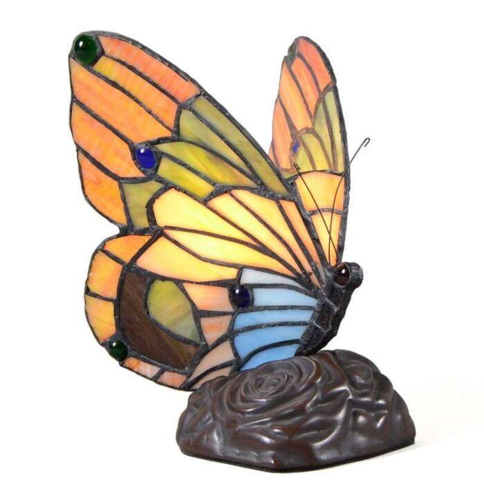 Stolní-lampa-Tiffany-Butterfly