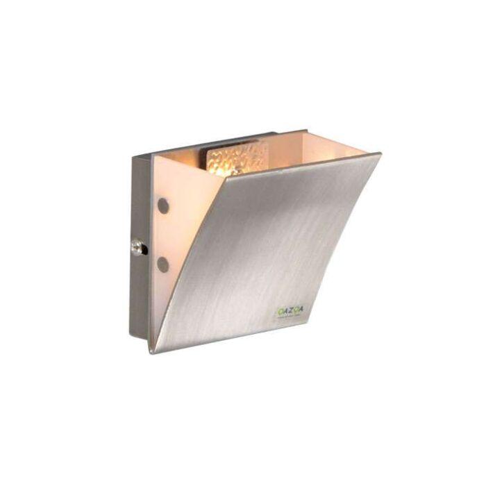 Nástěnná-lampa-Book-I-ocel