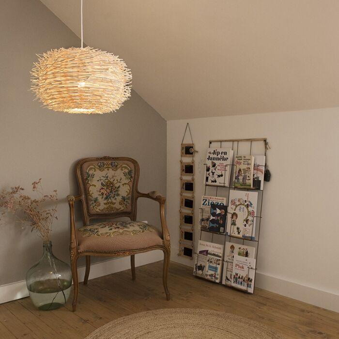 Venkovská-závěsná-lampa-bílý-ratan---poklop-45