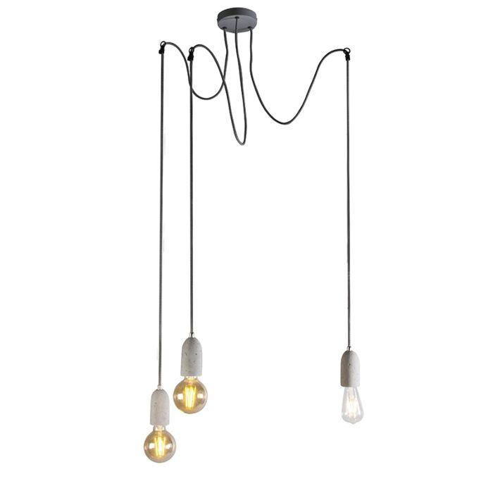 Průmyslová-závěsná-lampa-šedý-beton---Cava-3