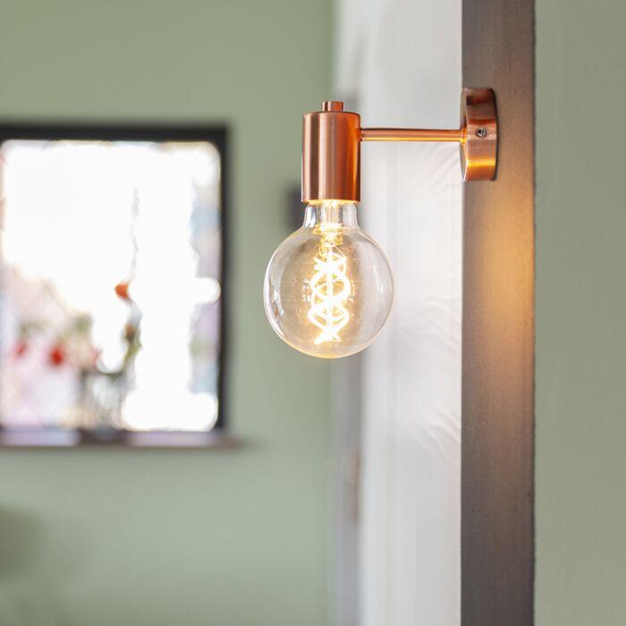 Nástěnná-lampa-ve-stylu-art-deco-měděná---Facil-1