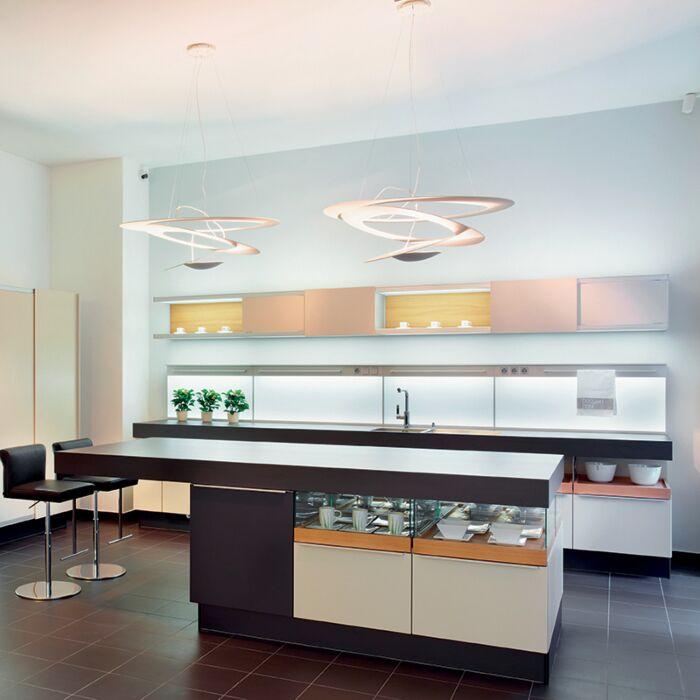 Designová-závěsná-lampa-bílá-97-cm---Pirce-Suspension