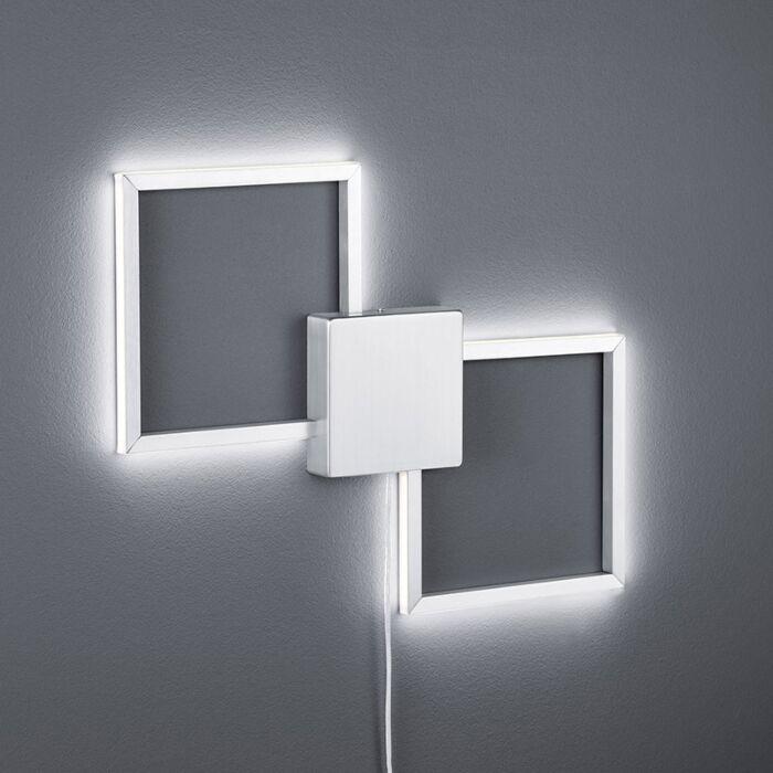 Moderní-nástěnná-lampa-z-oceli-včetně-LED---Carpo