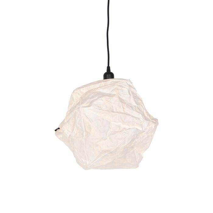 Skandinávská-papírová-závěsná-lampa-bílá---Pepa-Lua