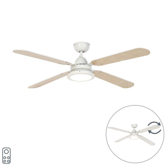 Stropní-ventilátor-bílý-s-dálkovým-ovládáním---Fanattic