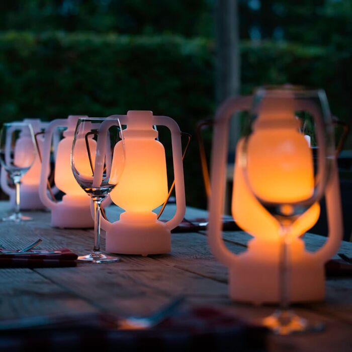 Stolní-lampa-s-efektem-bílého-plamene-22-cm---Storm-Mini