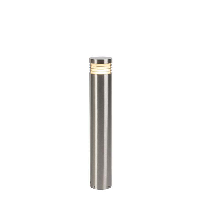 Moderní-stojící-venkovní-lampa-ocel-60-cm-IP44---Doc