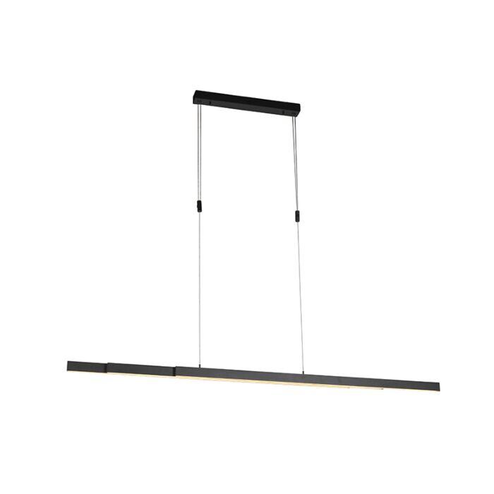 Závěsná-lampa-antracitová-včetně-LED-a-stmívače-nastavitelná---Juliet